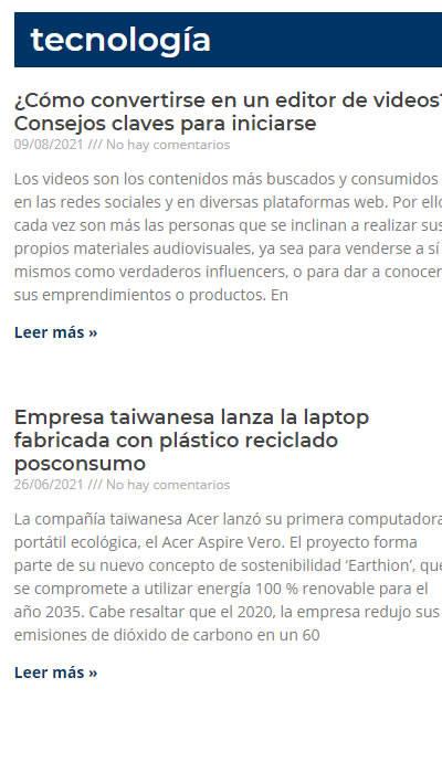 Victorino Publicidad, Marketing & TIC | Tecnología - Diario La Región