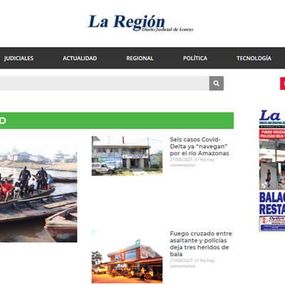 Publicidad en Diario La Región - Victorino Publicidad