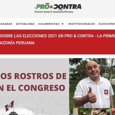 Publicidad en Diario Pro & Contra - Diario Pro y Contra - Victorino Publicidad